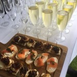 Selection of Homemade Canapes
