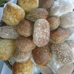 A Selection OF Fresh Bread Rolls