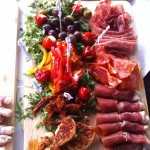 A Selection Of AntiPasti Meats
