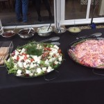 Memphis Style Crunchy Coleslaw and Greek Salad