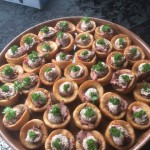 Canapes - Roast Beef in Yorkshire Puddings