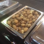 Hot New Potatoes in a Herb Butter