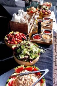 set up salads 5